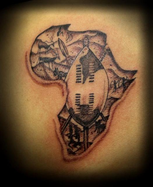 african tattoos photo - 11