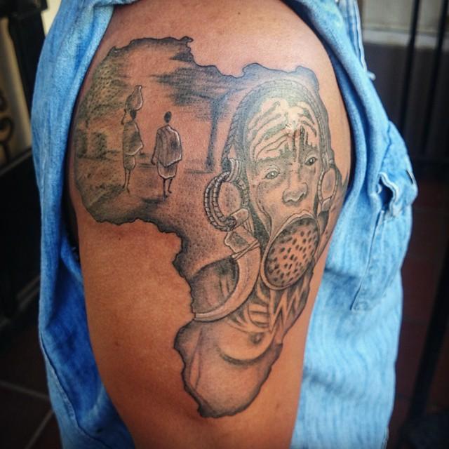 african tattoos photo - 4