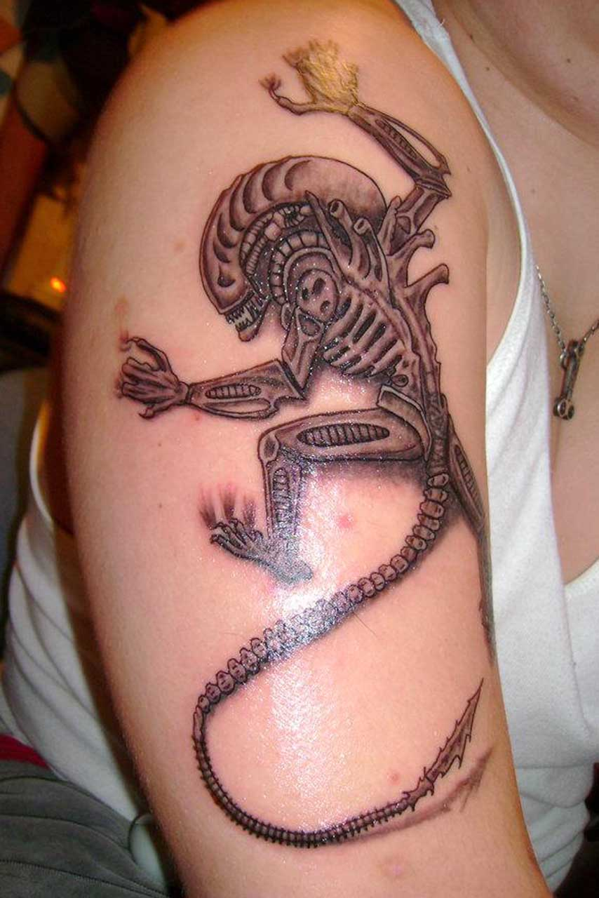 alien tattoos photo - 10