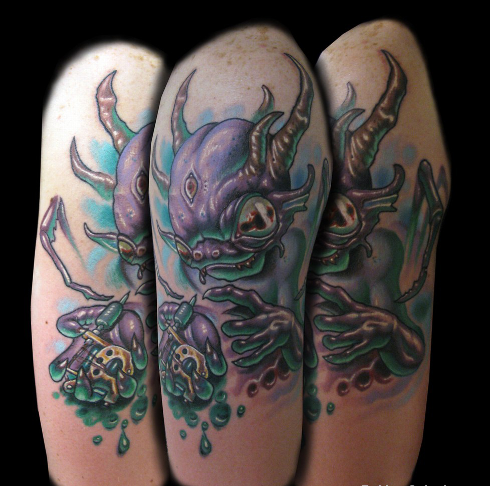 alien tattoos photo - 12