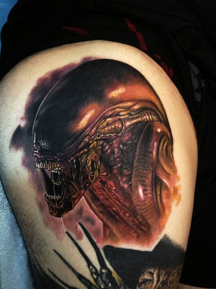alien tattoos photo - 15