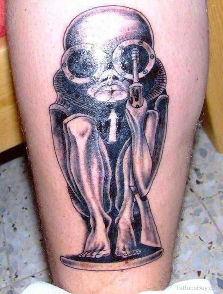 alien tattoos photo - 16