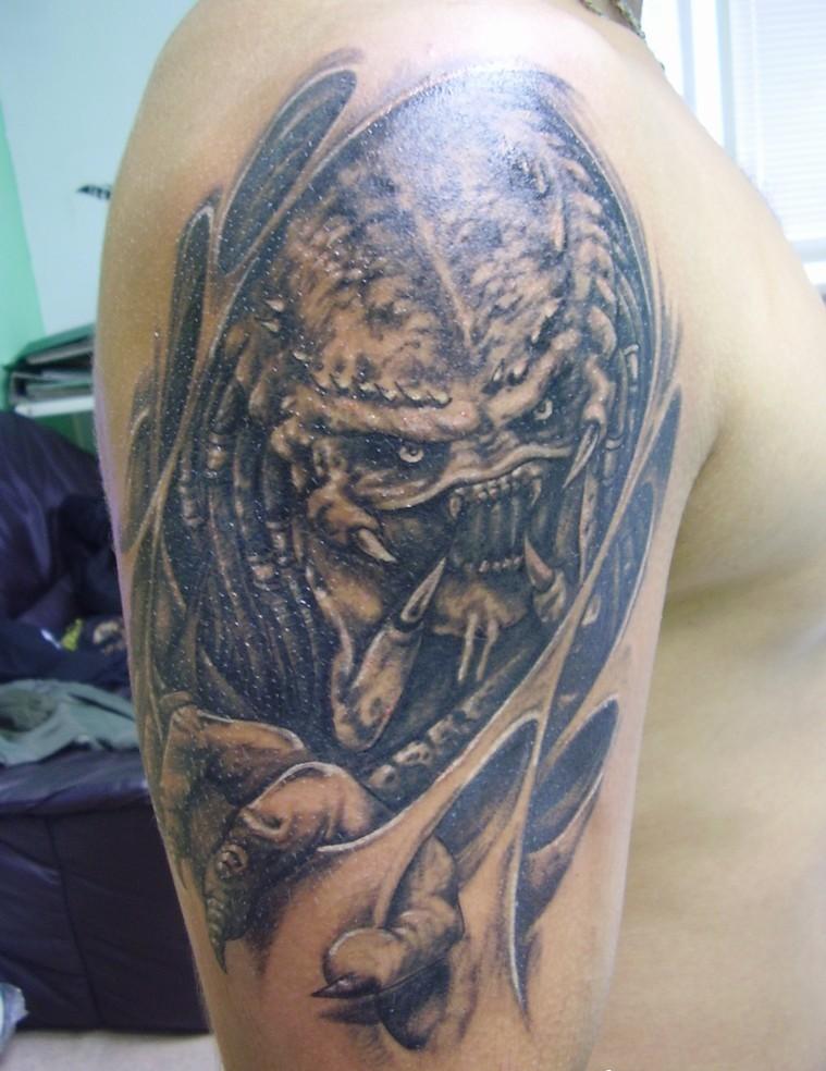 alien tattoos photo - 18
