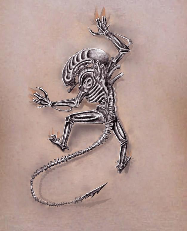 alien tattoos photo - 19