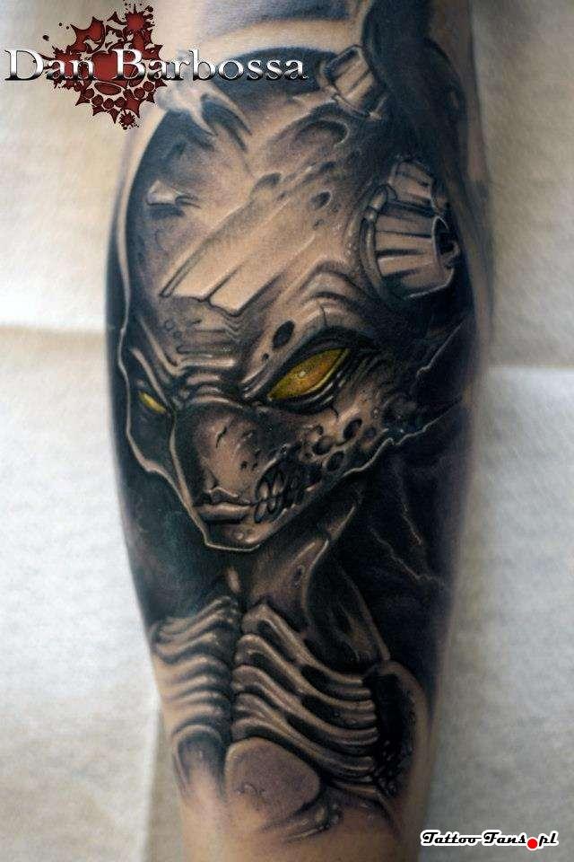 alien tattoos photo - 21