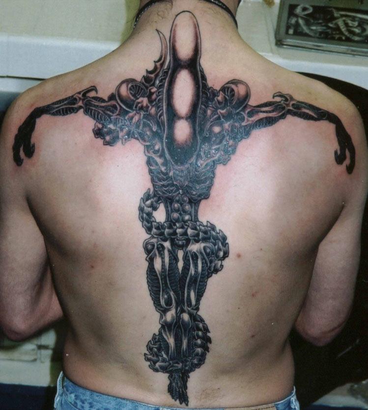 alien tattoos photo - 24
