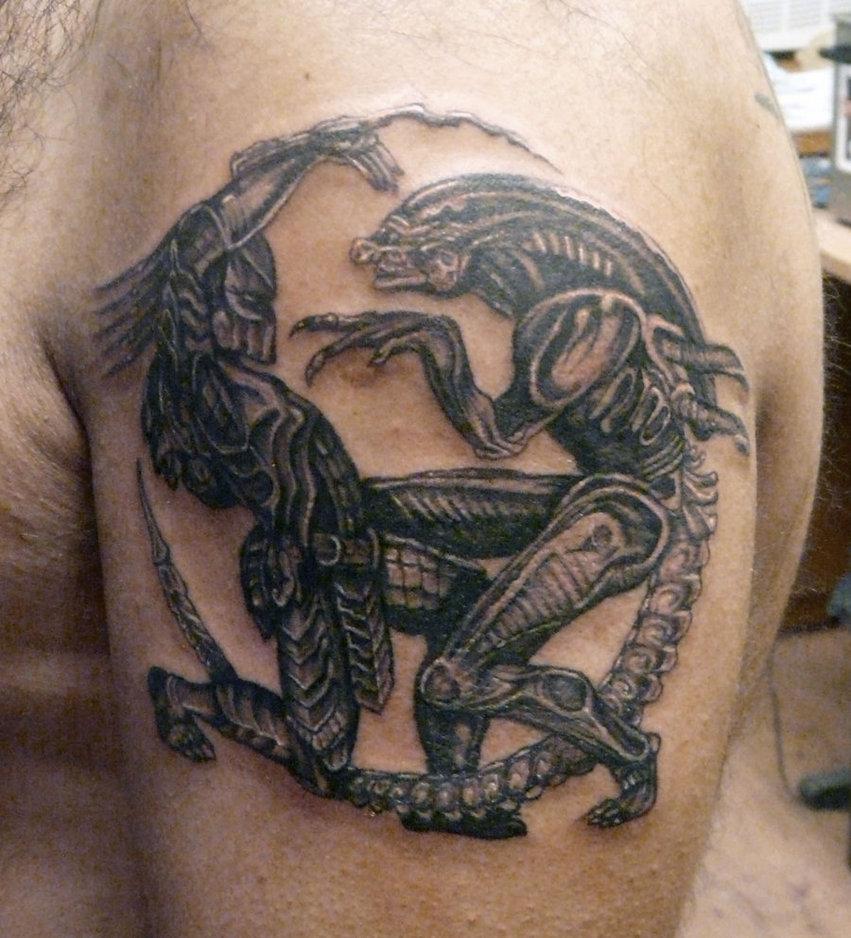 alien tattoos photo - 27