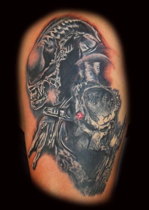 alien tattoos photo - 30