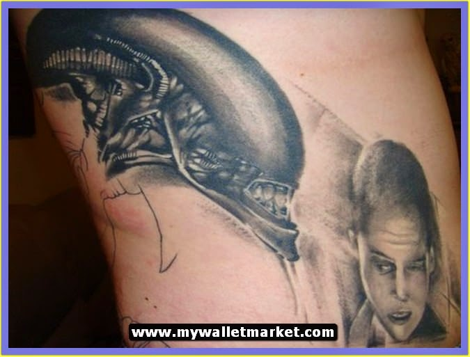 alien tattoos photo - 31