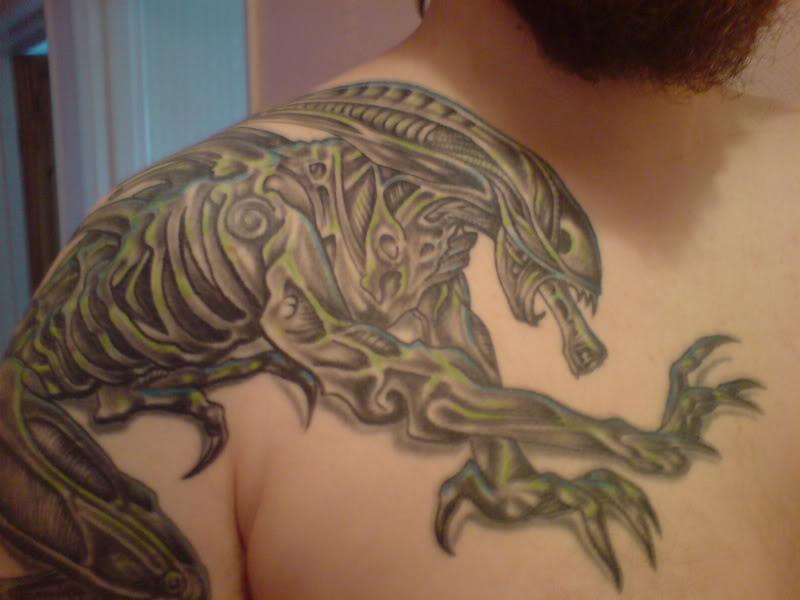 alien tattoos photo - 33