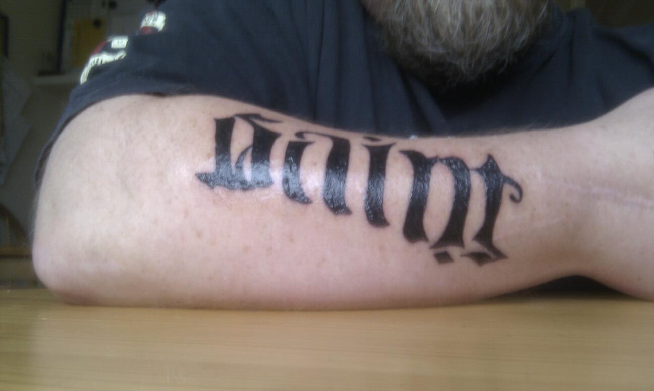 ambigram tattoos photo - 17