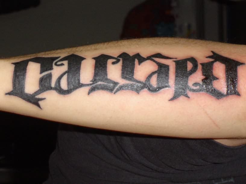 ambigram tattoos photo - 21