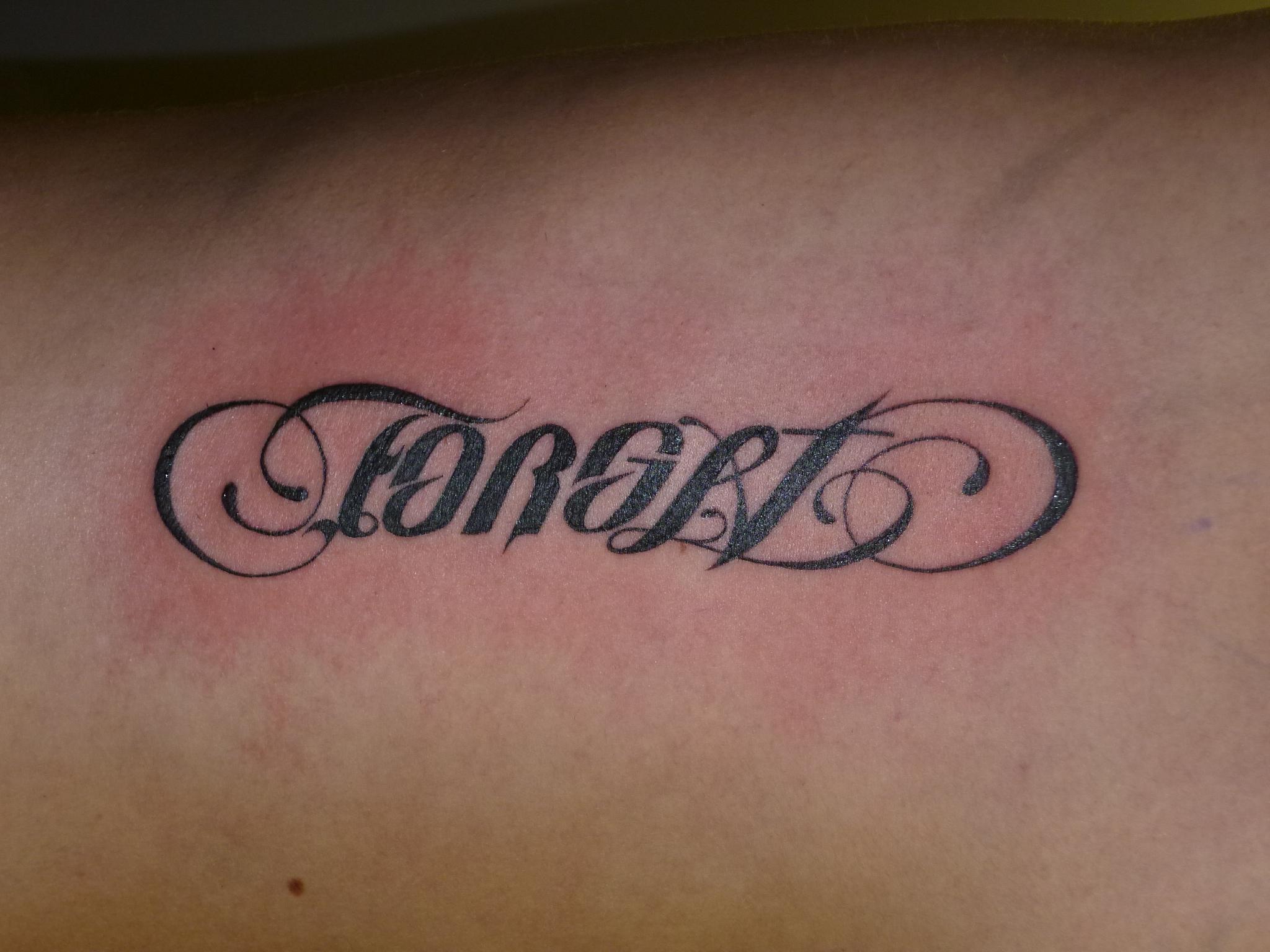ambigram tattoos photo - 37