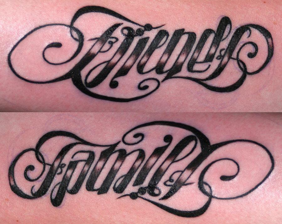 ambigram tattoos photo - 40