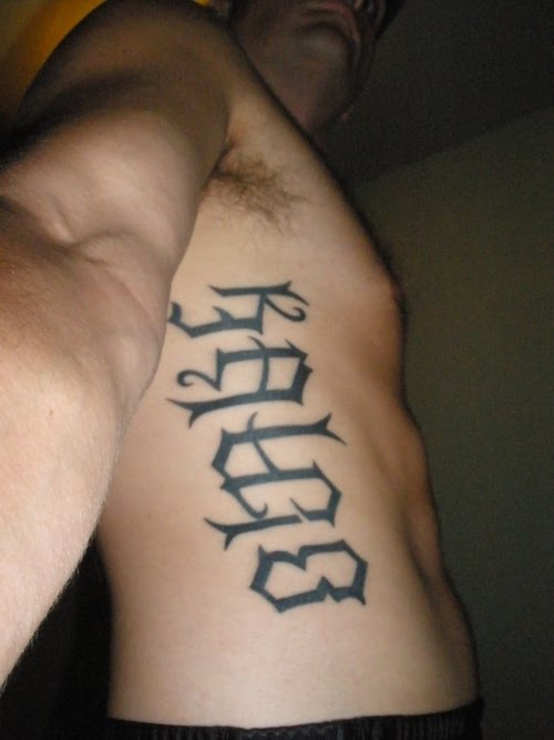 ambigram tattoos photo - 41