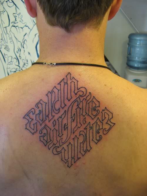 ambigram tattoos photo - 44