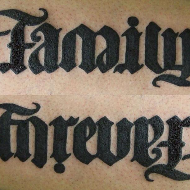 ambigram tattoos photo - 47