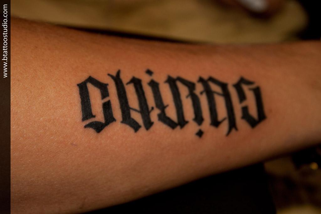 ambigram tattoos photo - 49