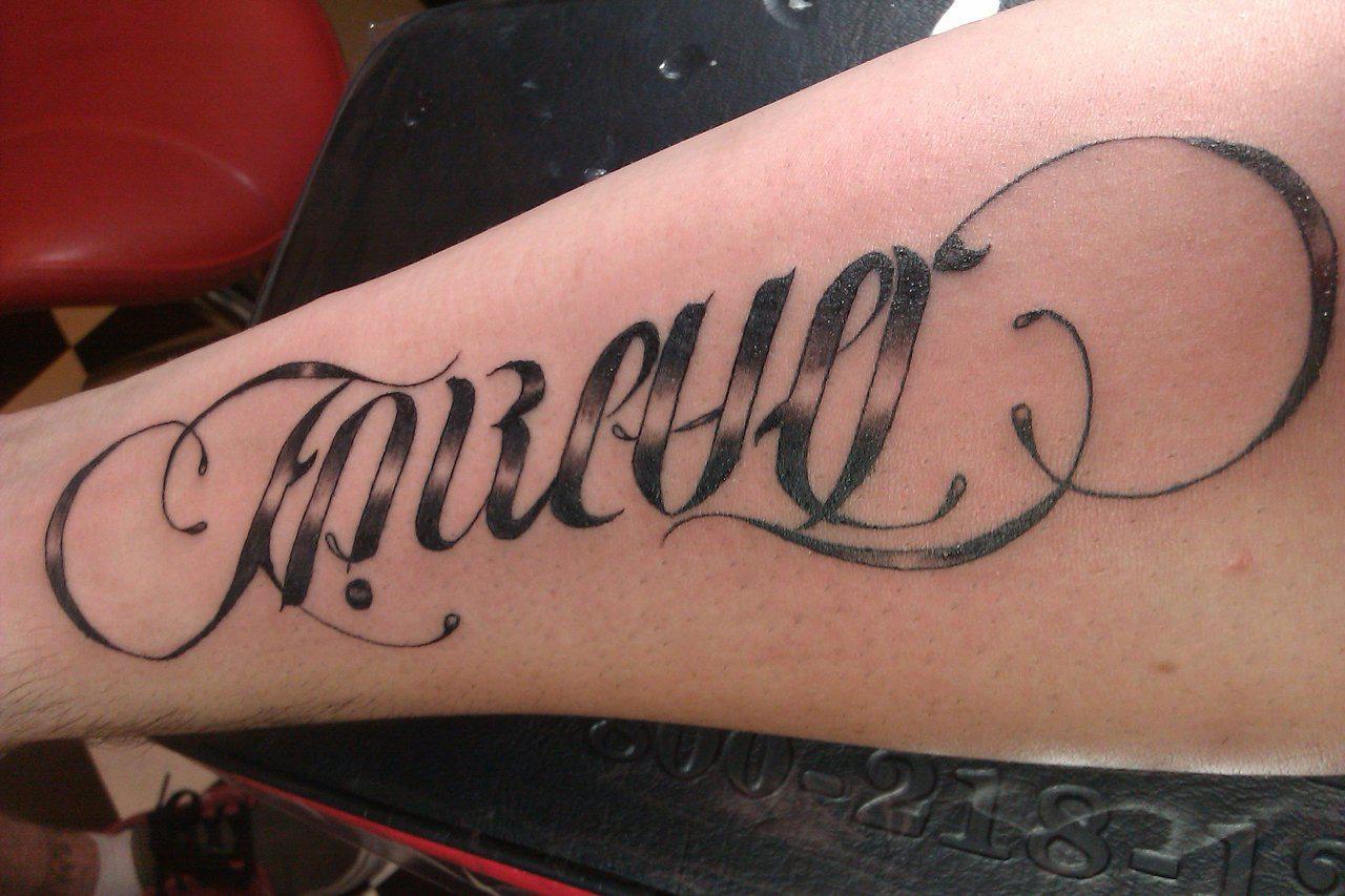 ambigram tattoos photo - 5