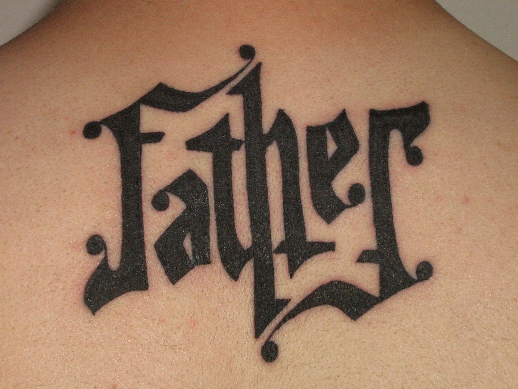 ambigram tattoos photo - 6