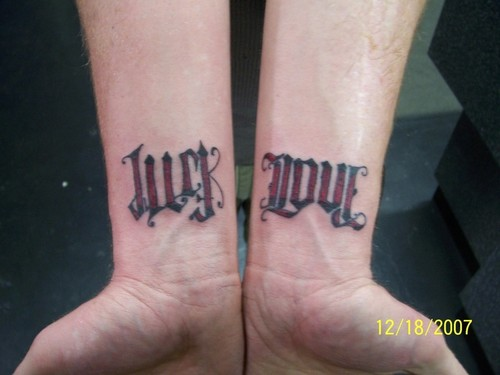 ambigram tattoos photo - 9