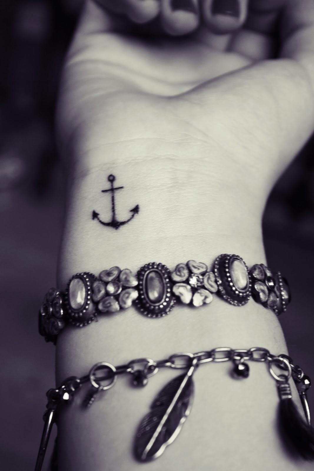 anchor tattoos photo - 14