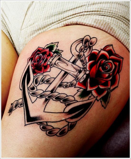anchor tattoos photo - 20