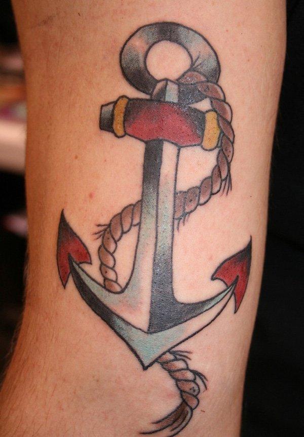 anchor tattoos photo - 21
