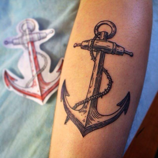 anchor tattoos photo - 26