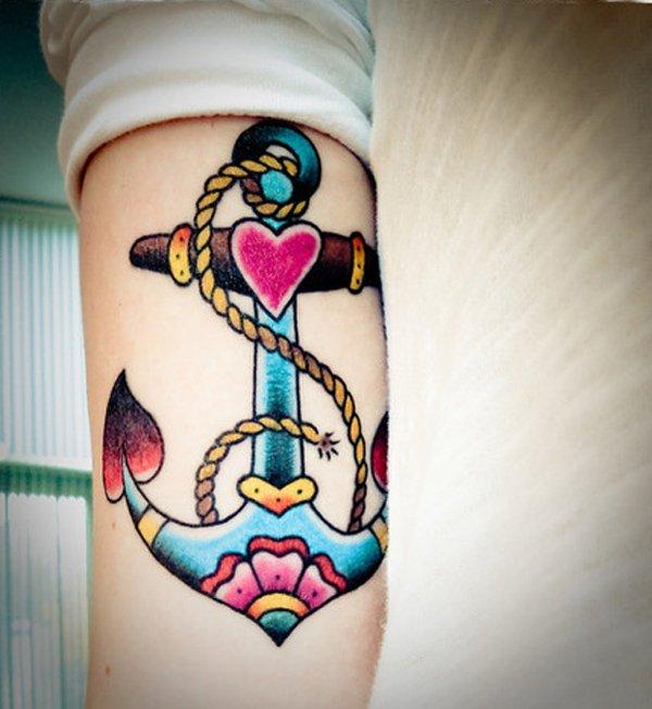 anchor tattoos photo - 3