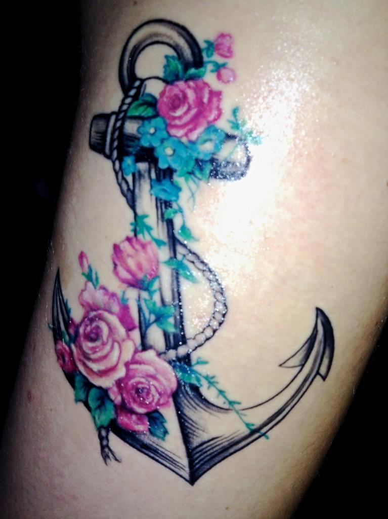 anchor tattoos photo - 6
