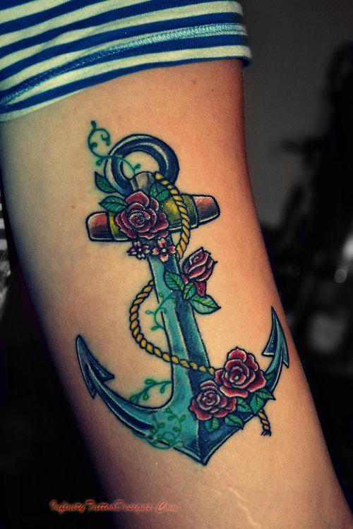 anchor tattoos photo - 8