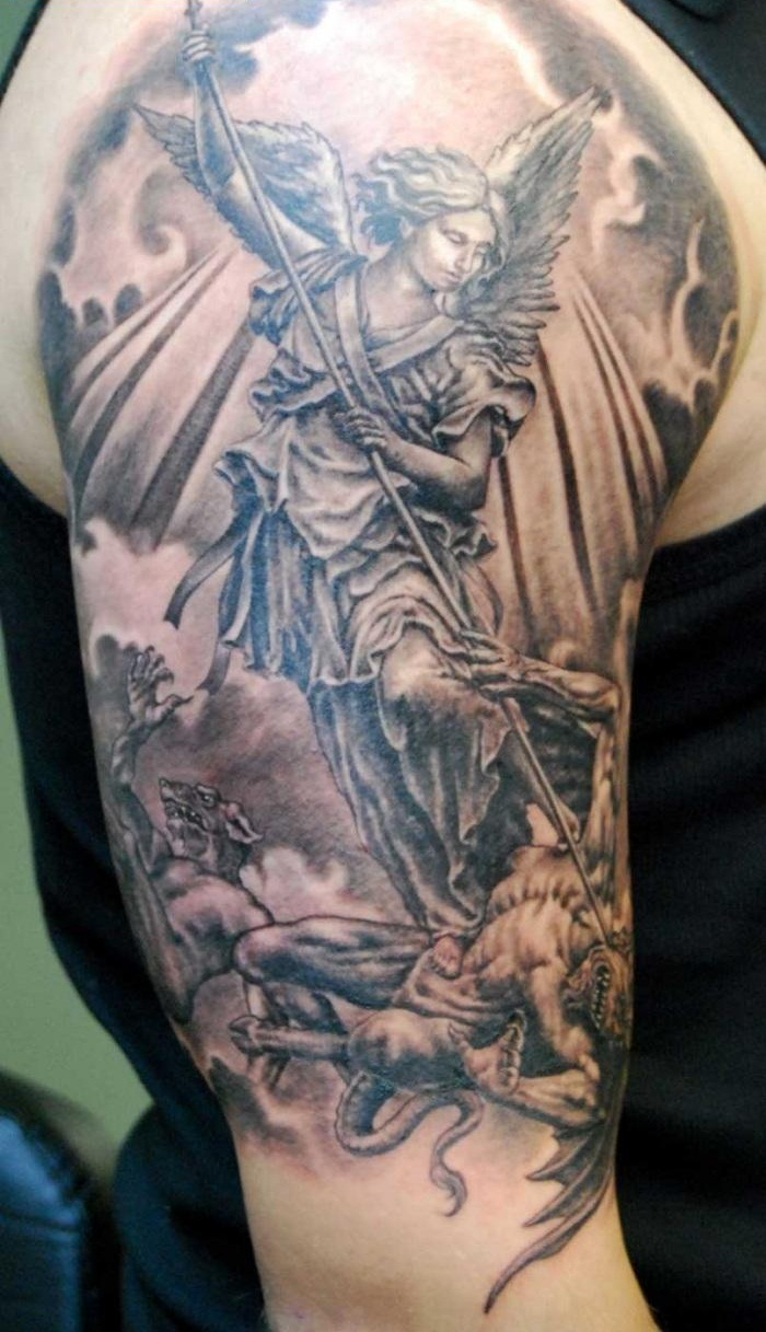 angel tattoos photo - 10