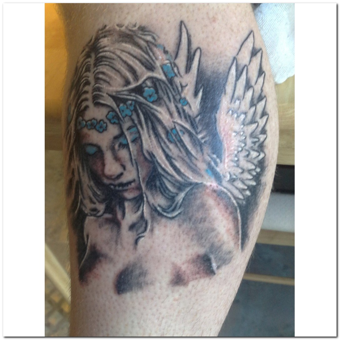 angel tattoos photo - 11