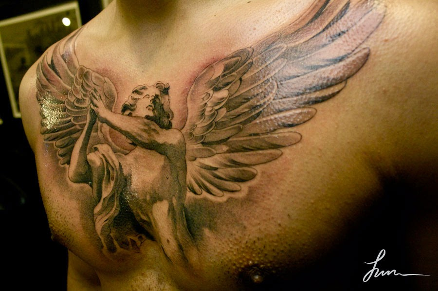 angel tattoos photo - 12