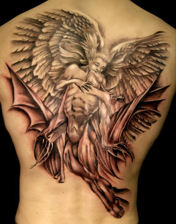 angel tattoos photo - 16