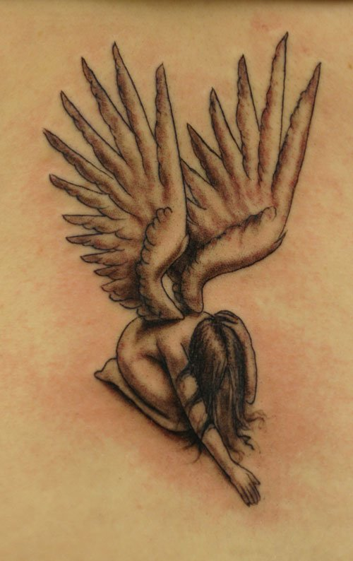 angel tattoos photo - 17