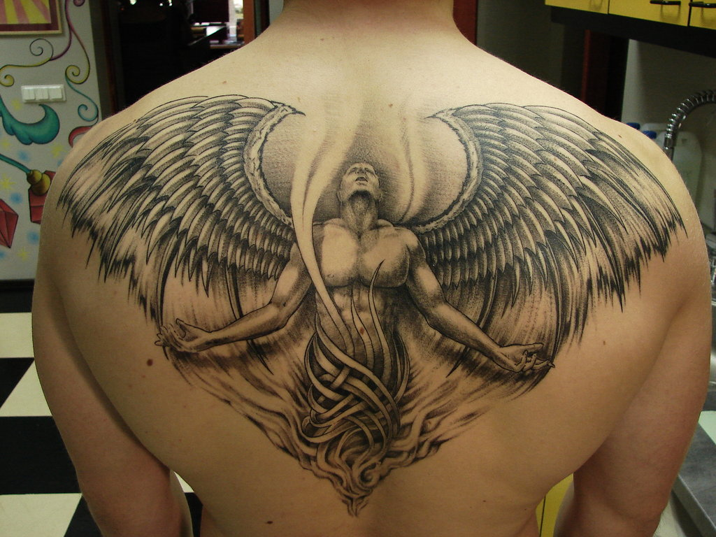 angel tattoos photo - 2