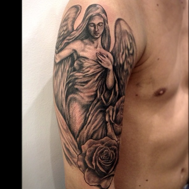 angel tattoos photo - 22