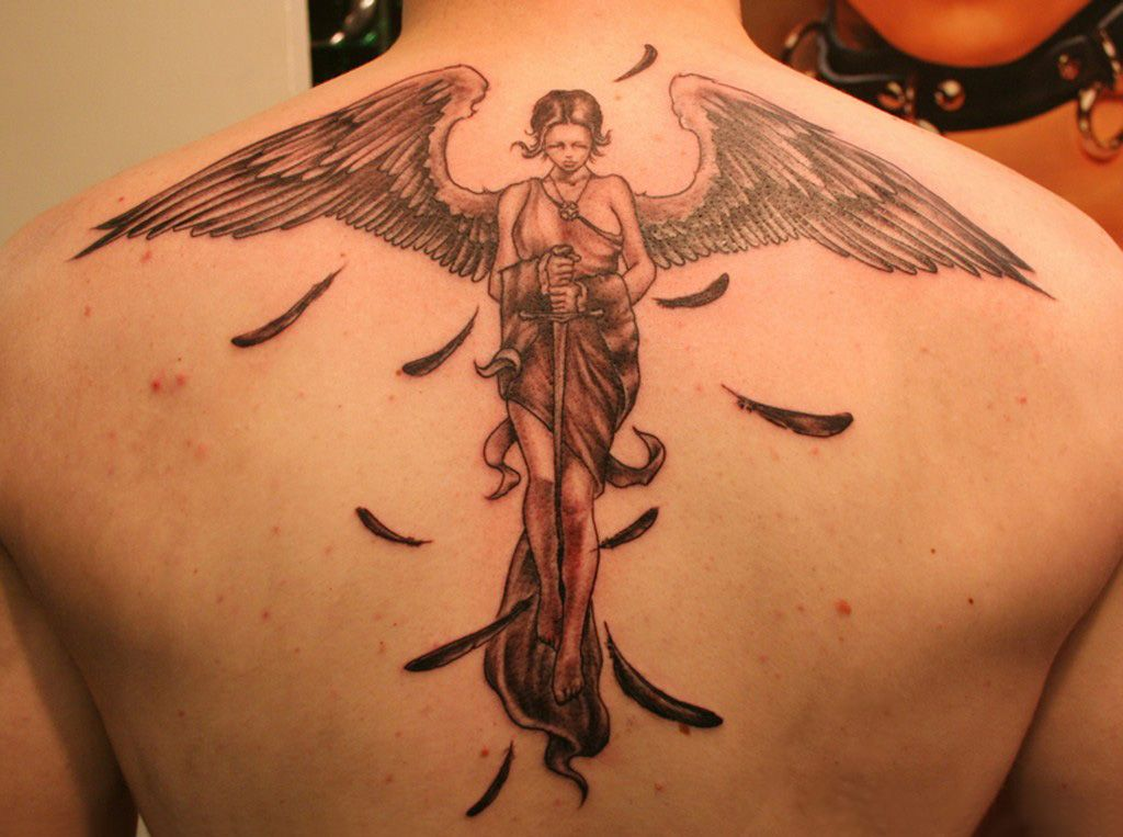 angel tattoos photo - 23