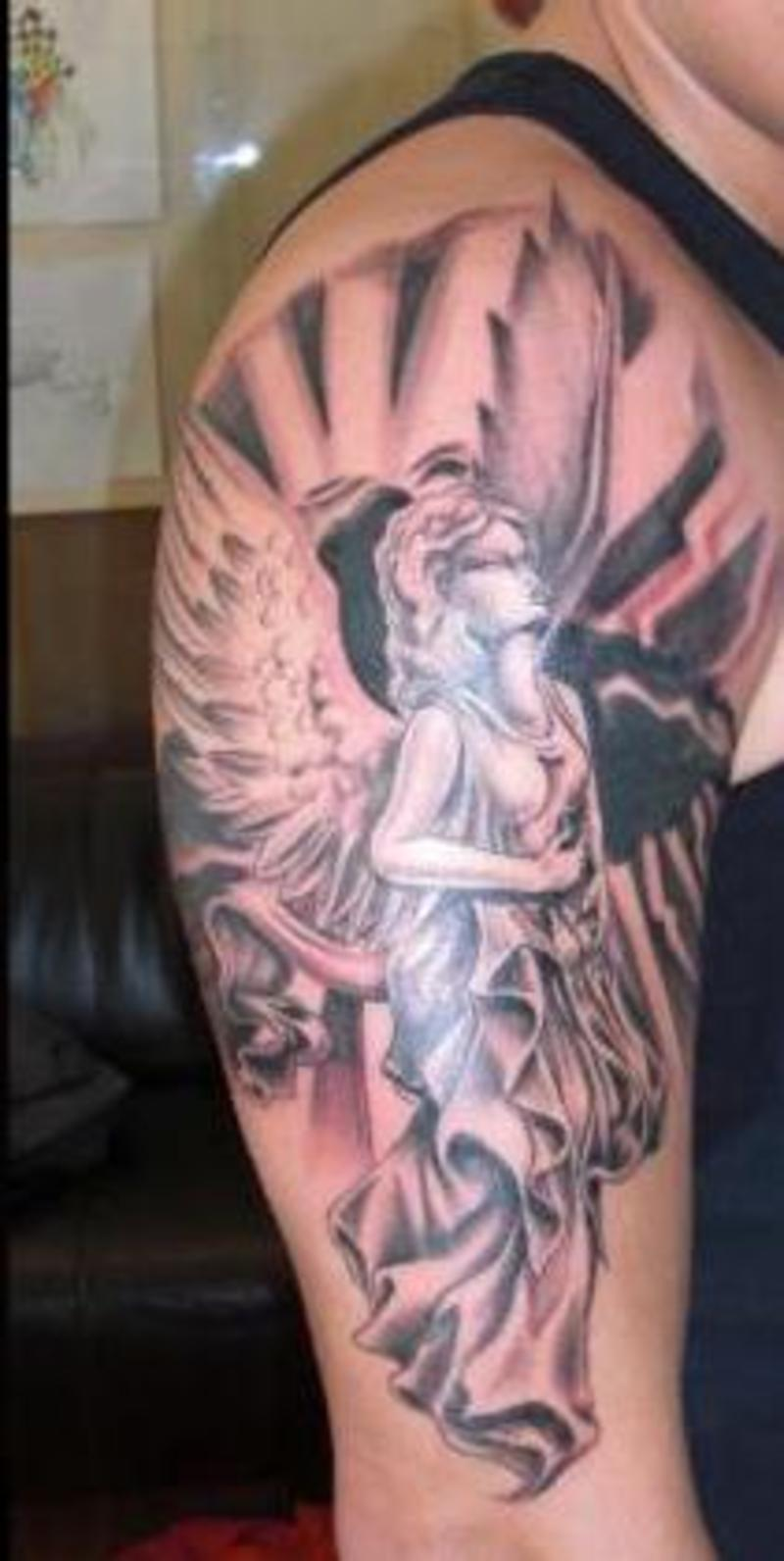 angel tattoos photo - 27