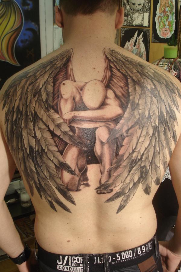 angel tattoos photo - 28