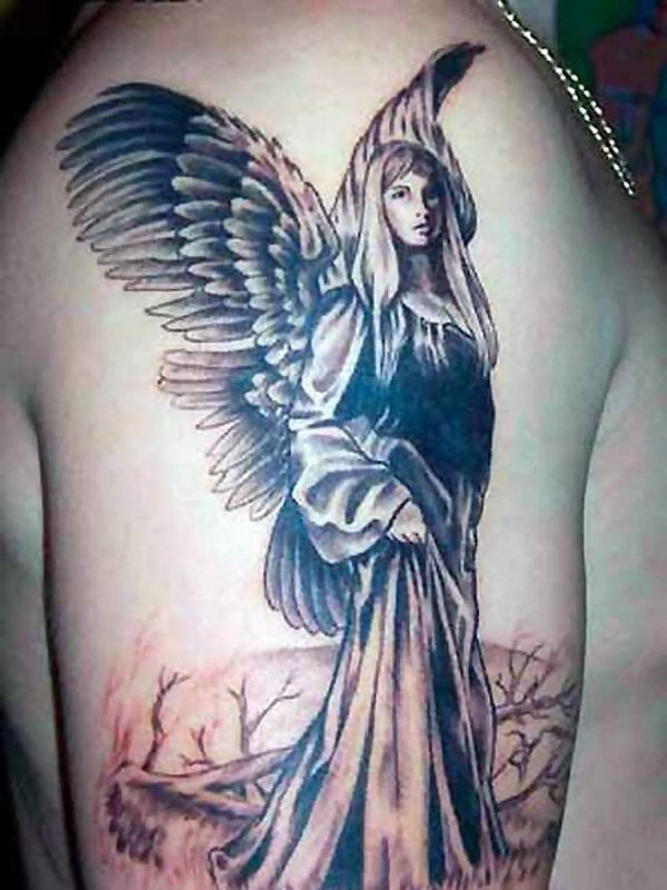 angel tattoos photo - 6