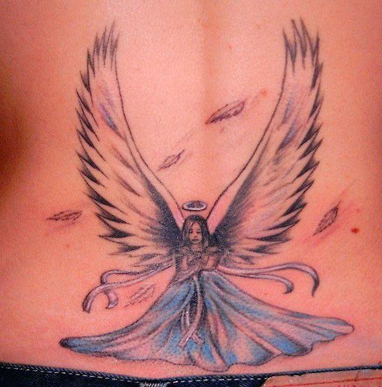 angel tattoos photo - 8