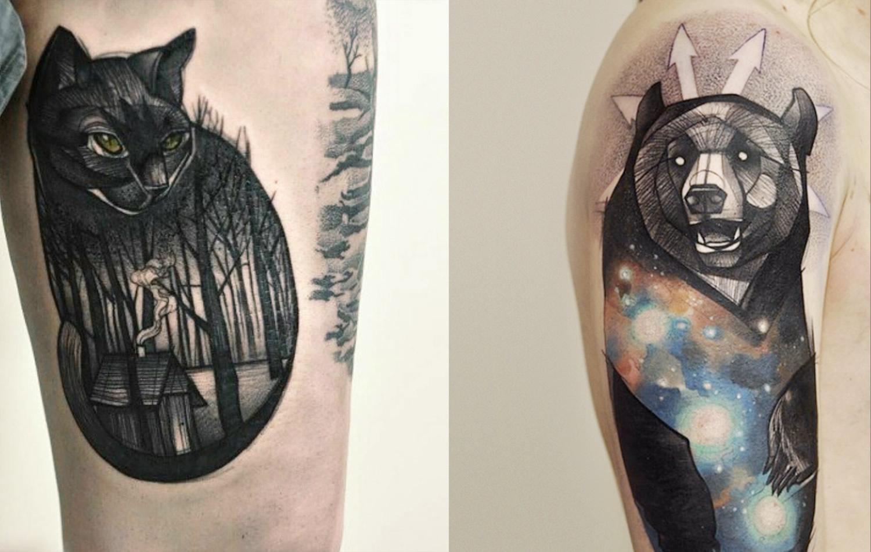 animal tattoos photo - 36