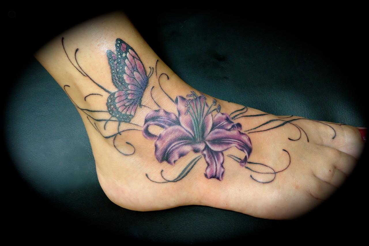 ankle tattoos photo - 16