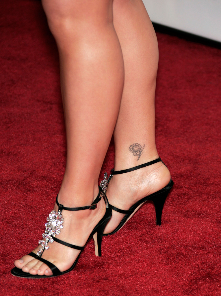 ankle tattoos photo - 21