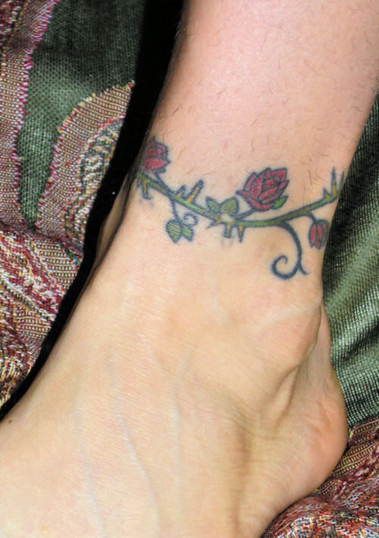 ankle tattoos photo - 35