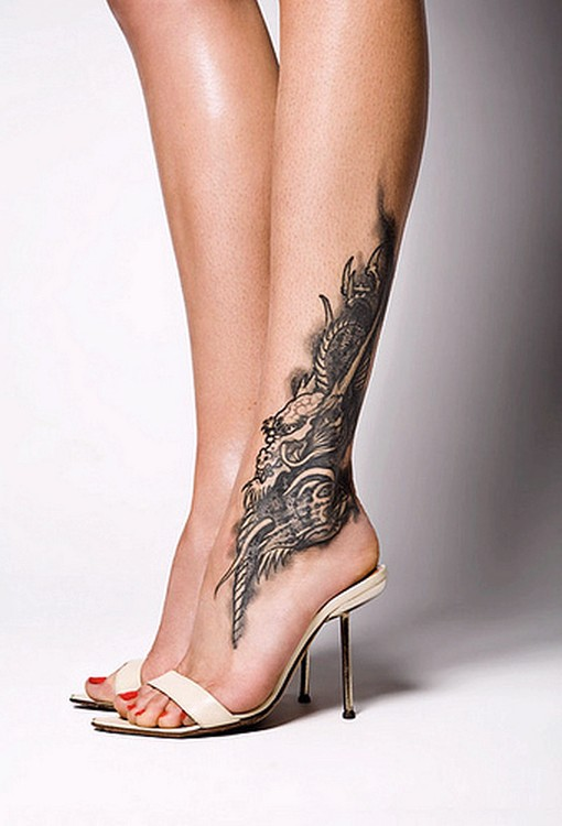 ankle tattoos photo - 4