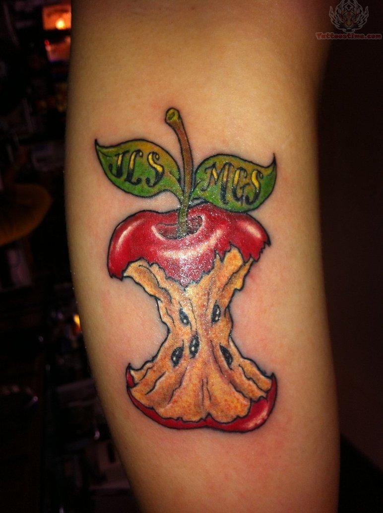apple tattoos photo - 10